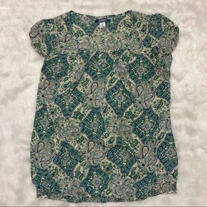 Old Navy Paisley Maternity Top